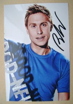 Russell Howard autographed photo