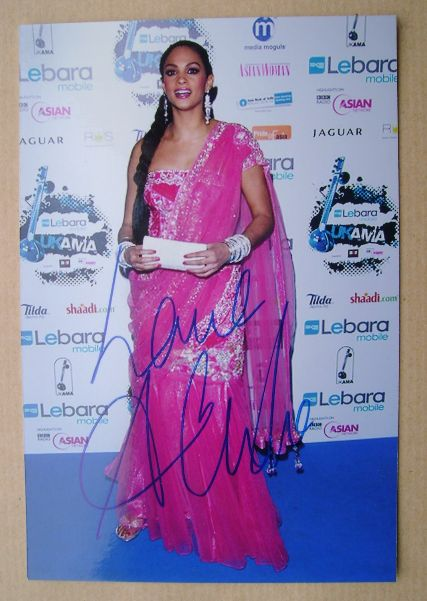 Alesha Dixon autograph