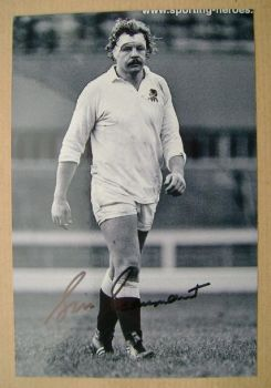Bill Beaumont autograph