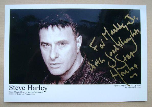 Steve Harley autograph