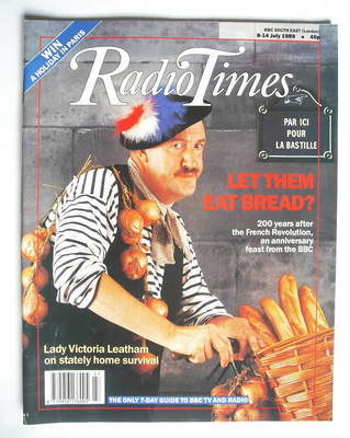<!--1989-07-08-->Radio Times magazine - Gorden Kaye (8-14 July 1989)