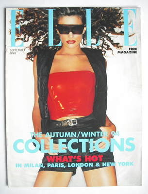 British Elle supplement - Autumn/Winter 1994 Collections (September 1994)