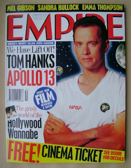 <!--1995-10-->Empire magazine - Tom Hanks cover (October 1995 - Issue 76)