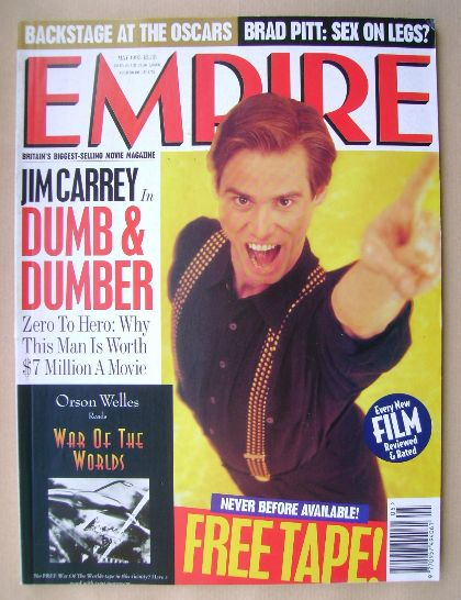 <!--1995-05-->Empire magazine - Jim Carrey cover (May 1995 - Issue 71)