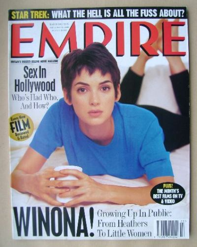 <!--1995-03-->Empire magazine - Winona Ryder cover (March 1995 - Issue 69)