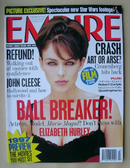 <!--1997-02-->Empire magazine - Elizabeth Hurley cover (February 1997 - Iss