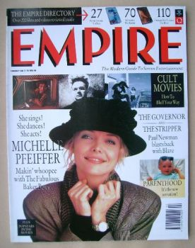 <!--1990-02-->Empire magazine - Michelle Pfeiffer cover (February 1990 - Issue 8)