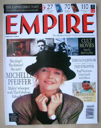 <!--1990-02-->Empire magazine - Michelle Pfeiffer cover (February 1990 - Is