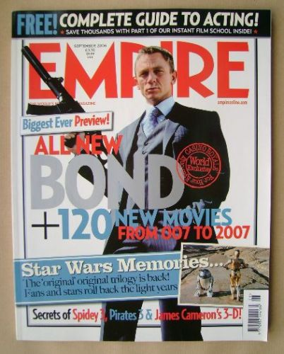 <!--2006-09-->Empire magazine - Daniel Craig cover (September 2006 - Issue