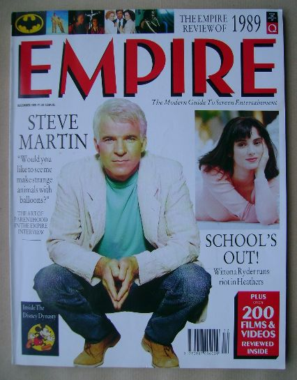 <!--1989-12-->Empire magazine - Steve Martin cover (December 1989 - Issue 6