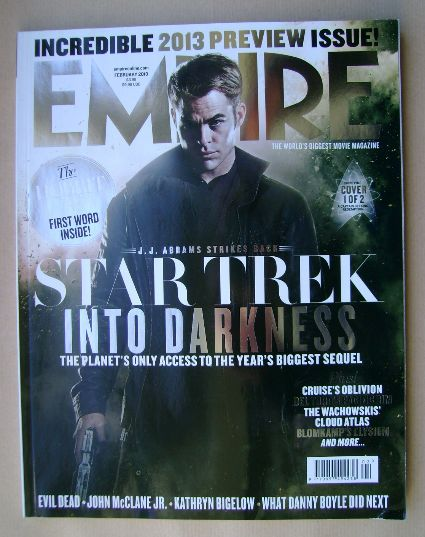 <!--2013-02-->Empire magazine - Star Trek Into Darkness cover (February 201