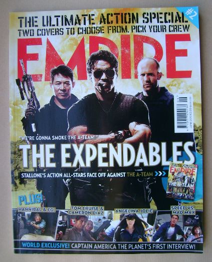 <!--2010-06-->Empire magazine - The Expendables cover (June 2010 - Issue 25