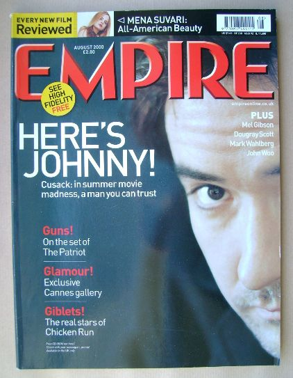 <!--2000-08-->Empire magazine - August 2000 (Issue 134)