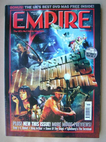 <!--2004-03-->Empire magazine - March 2004 (Issue 177)