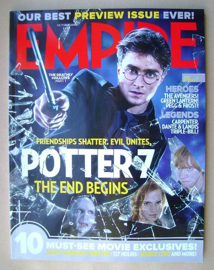 <!--2010-10-->Empire magazine - Daniel Radcliffe cover (October 2010 - Issu