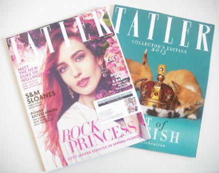 <!--2015-05-->Tatler magazine - May 2015 - Lizzy Jagger cover