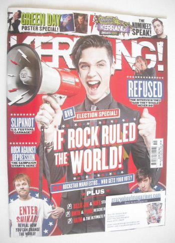 <!--2015-05-09-->Kerrang magazine - Andy Biersack cover (9 May 2015 - Issue