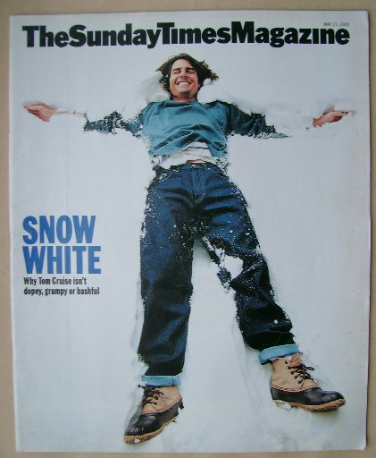 <!--2000-05-21-->The Sunday Times magazine - Tom Cruise cover (21 May 2000)