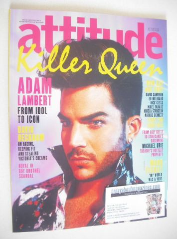 <!--2015-05-->Attitude magazine - Adam Lambert cover (May 2015)