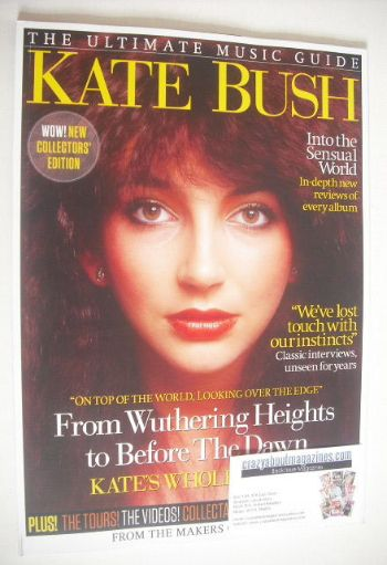<!--2015-03-->The Ultimate Music Guide magazine - Kate Bush cover (March 20