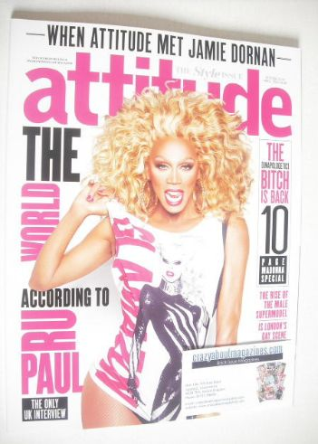 <!--2015-04-->Attitude magazine - Ru Paul cover (April 2015)