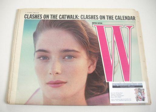 <!--1988-04-07-->W magazine (7-20 April 1988)