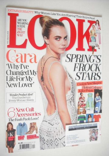 <!--2015-03-16-->Look magazine - 16 March 2015 - Cara Delevingne cover