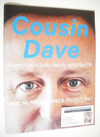 <!--2015-04-05-->The Sunday Times magazine - David Cameron cover (5 April 2