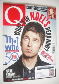 Q magazine - Noel Gallagher cover (March 2015)