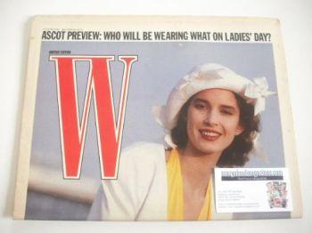 W magazine (2-15 June 1988)