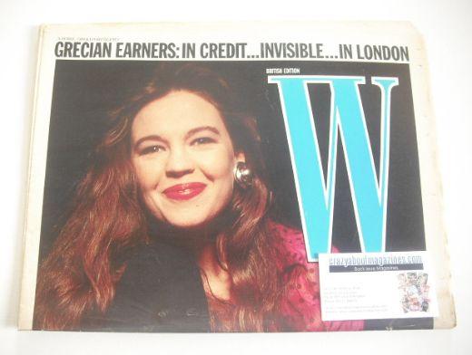 <!--1988-05-05-->W magazine (5-18 May 1988)