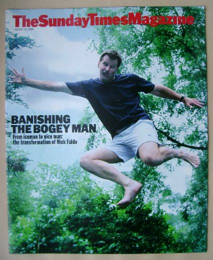 <!--2000-08-13-->The Sunday Times magazine - Nick Faldo cover (13 August 20