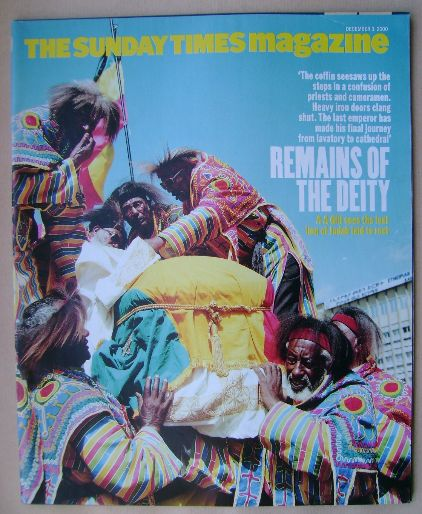 <!--2000-12-03-->The Sunday Times magazine - Remains Of The Deity cover (3