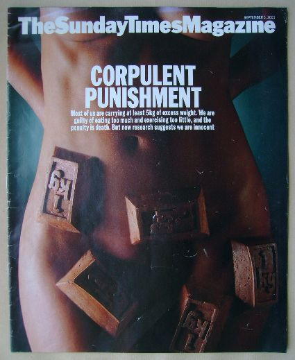 <!--2000-09-03-->The Sunday Times magazine - Corpulent Punishment cover (3