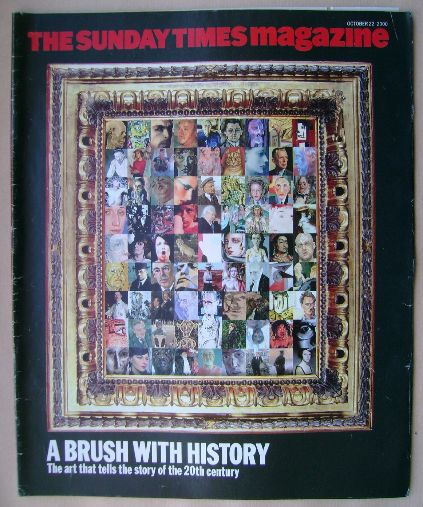 <!--2000-10-22-->The Sunday Times magazine - A Brush With History cover (22