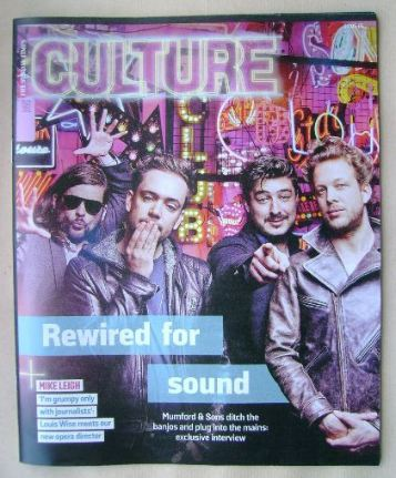 <!--2015-05-03-->Culture magazine - Mumford & Sons cover (3 May 2015)
