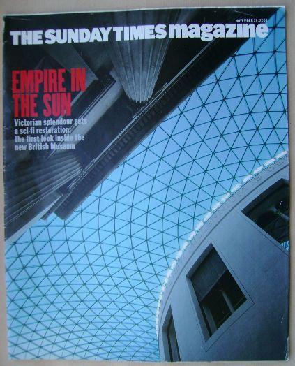 <!--2000-11-26-->The Sunday Times magazine - 26 November 2000