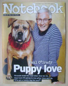 Notebook magazine - Paul O'Grady cover (14 December 2014)