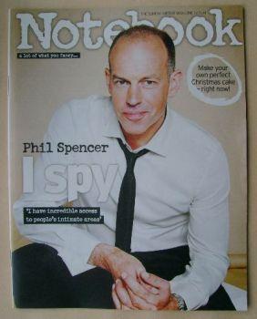 Notebook magazine - Phil Spencer cover (2 November 2014)