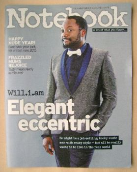 Notebook magazine - Will.i.am cover (4 January 2015)