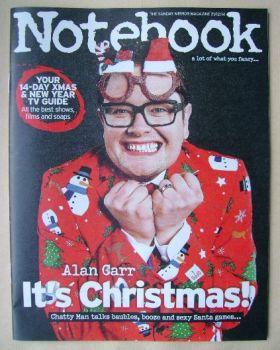 Notebook magazine - Alan Carr cover (21 December 2014)