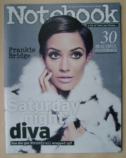 <!--2014-10-26-->Notebook magazine - Frankie Bridge cover (26 October 2014)