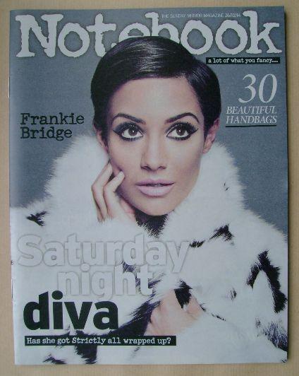 <!--2014-10-26-->Notebook magazine - Frankie Bridge cover (26 October 2014)