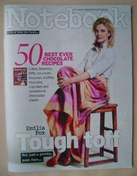 Notebook magazine - Emilia Fox cover (29 March 2015)