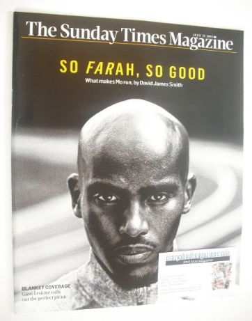 <!--2013-07-21-->The Sunday Times magazine - Mo Farah cover (21 July 2013)