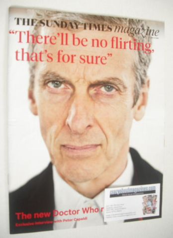 <!--2014-07-27-->The Sunday Times magazine - Peter Capaldi cover (27 July 2