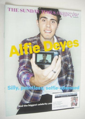 <!--2014-10-26-->The Sunday Times magazine - Alfie Deyes cover (26 October
