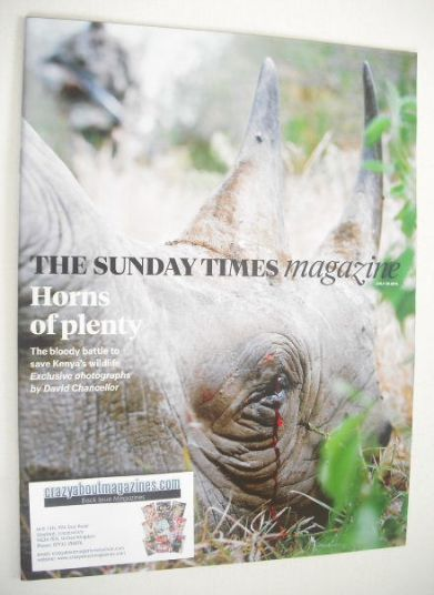 <!--2014-07-20-->The Sunday Times magazine - Horns Of Plenty cover (20 July