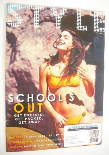 <!--2013-07-21-->Style magazine - School's Out cover (21 July 2013)