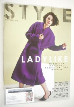 Style magazine - Michelle Dockery cover (22 September 2013)
